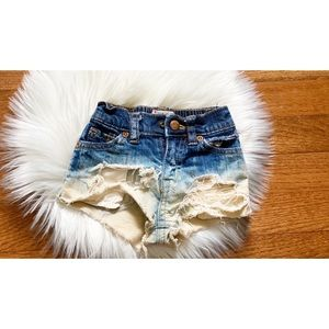 1989 Place | boho distressed shorts